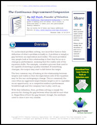 Problem Solving Lean Term on PDF