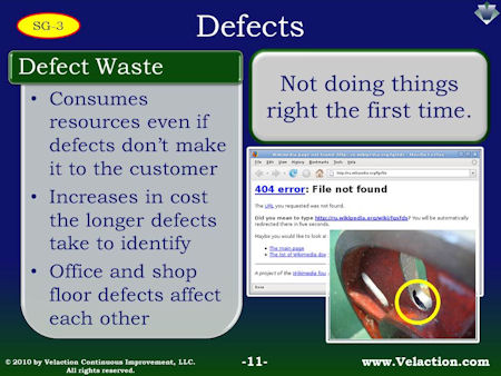 Defect Waste
