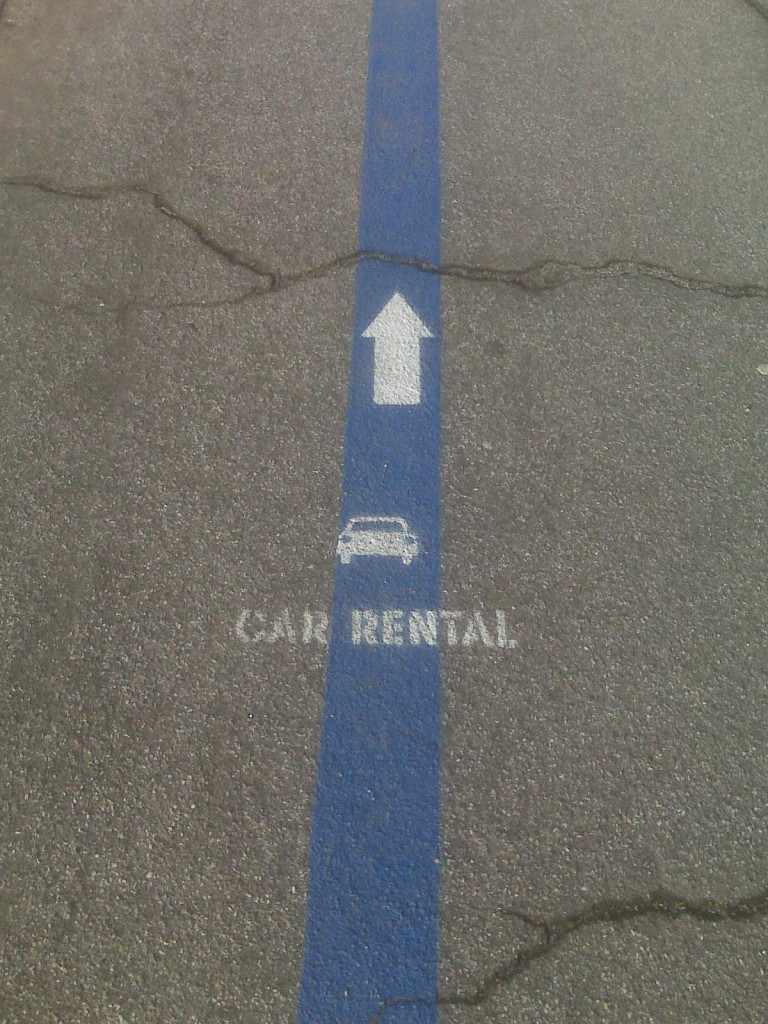 Directions to Car Rental