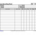 Process Recording Sheet