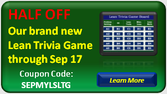 View our Lean Trivia Game offer.