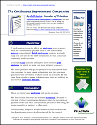 Push Systems Lean Term on PDF