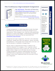 Change Management Lean Term on PDF
