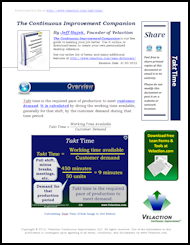 Takt Time Lean Term on PDF