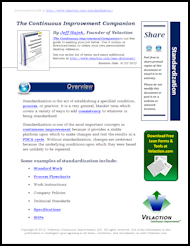Standardization Lean Term on PDF