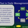 Click the image to get our Daily Management training module