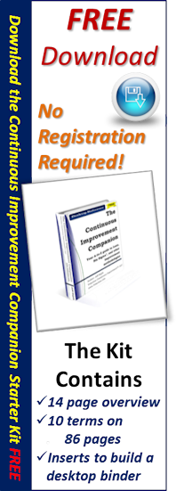 Download the Continuous Improvement Companion Starter Kit