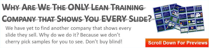 Preview Every Lean Training Slide